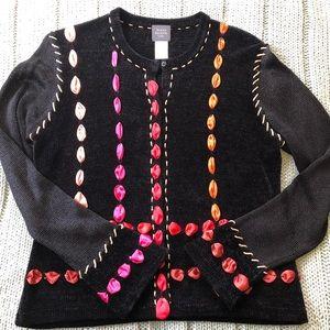 Susan Bristol Ribbon Sweater